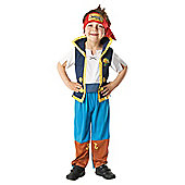 Disney Jake and The Neverland Pirates- Child Costume 3-4 years