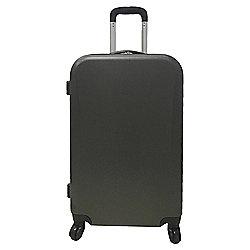 Tesco 4-Wheel Medium Dark Grey Suitcase