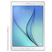"""Samsung Tab A 9.7"""" White  + S pen"""