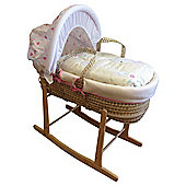 Bizzi Growin Tick tock moses basket
