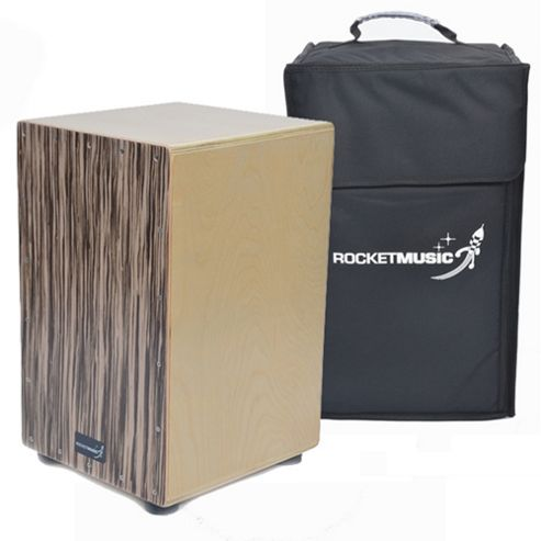 Rocket Zebra Cajon with Bag