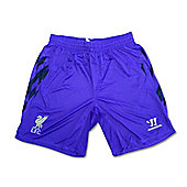 2013-14 Liverpool Third Football Shorts (Purple) - Purple