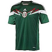 2014-15 Mexico Home World Cup Football Shirt (Kids) - Green