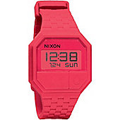 Nixon Rubber Re-Run Unisex Rubber Day & Date Alarm Watch A169685