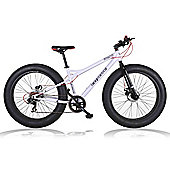 "2015 Coyote Fatman Fat Bike 26"" x 4"" with Disc Brakes White"