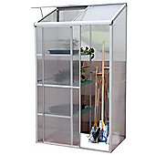 Nison Multi-Pro Aluminium Mini Greenhouse in Silver