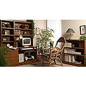 Enduro Two Drawer Wooden Filing Cabinet - Teak