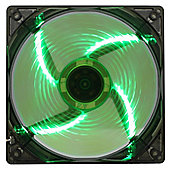 Game Max Wind Force 4 x Green LED 12cm Cooling Fan