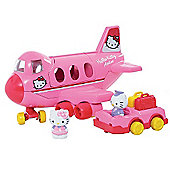 Hello Kitty Jumbo Jet Playset