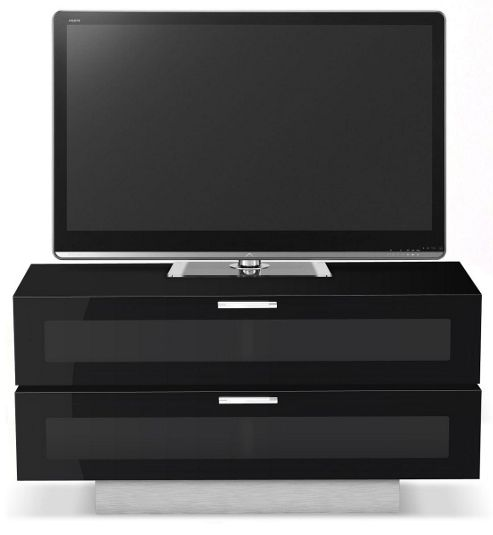 STUK 4001 BL-BA - 2 TV Stand For Up To 50 inch TVs