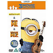 Minions Collection - Despicable Me/Despicable Me 2/Minions - DVD