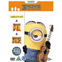 Minions Collection - Despicable Me/Despicable Me 2/Minions - DVD