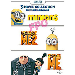 Despicable Me/ Despicable Me 2/ Minions DVD