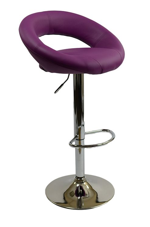 buy eclipse purple bar stool from our bar tables stools. Black Bedroom Furniture Sets. Home Design Ideas