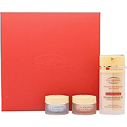 Clarins Multi-Regenerante Gift Set 30ml Double Serum Generation 6 + 15ml Extra-Firming Day Lifting Cream + 15ml Extra-Firming Night Rejuvenating Cream