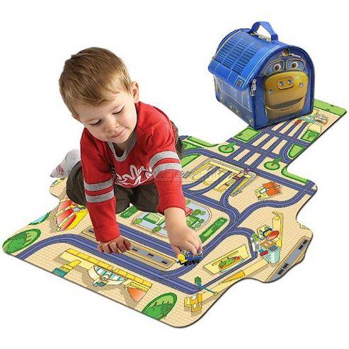 Chuggington Diecast Brewster Carry Case Playmat