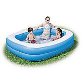 Blue Rectangular Family Pool