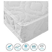 Kinder Valley Deluxe Spring Cot Mattress, 120x60cm