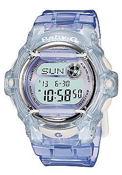 Casio Computer Lilac Baby G 100M W/R Watch