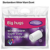 Slumberdown Big Hug 15 Tog Duvet - Single