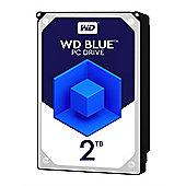 WD 2TB Blue 64 MB 3.5IN SATA 6 Gb/s Hard Drive
