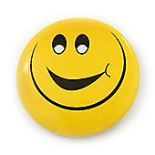 Very Happy Smiling Face Lapel Pin Button Badge - 3cm Diameter