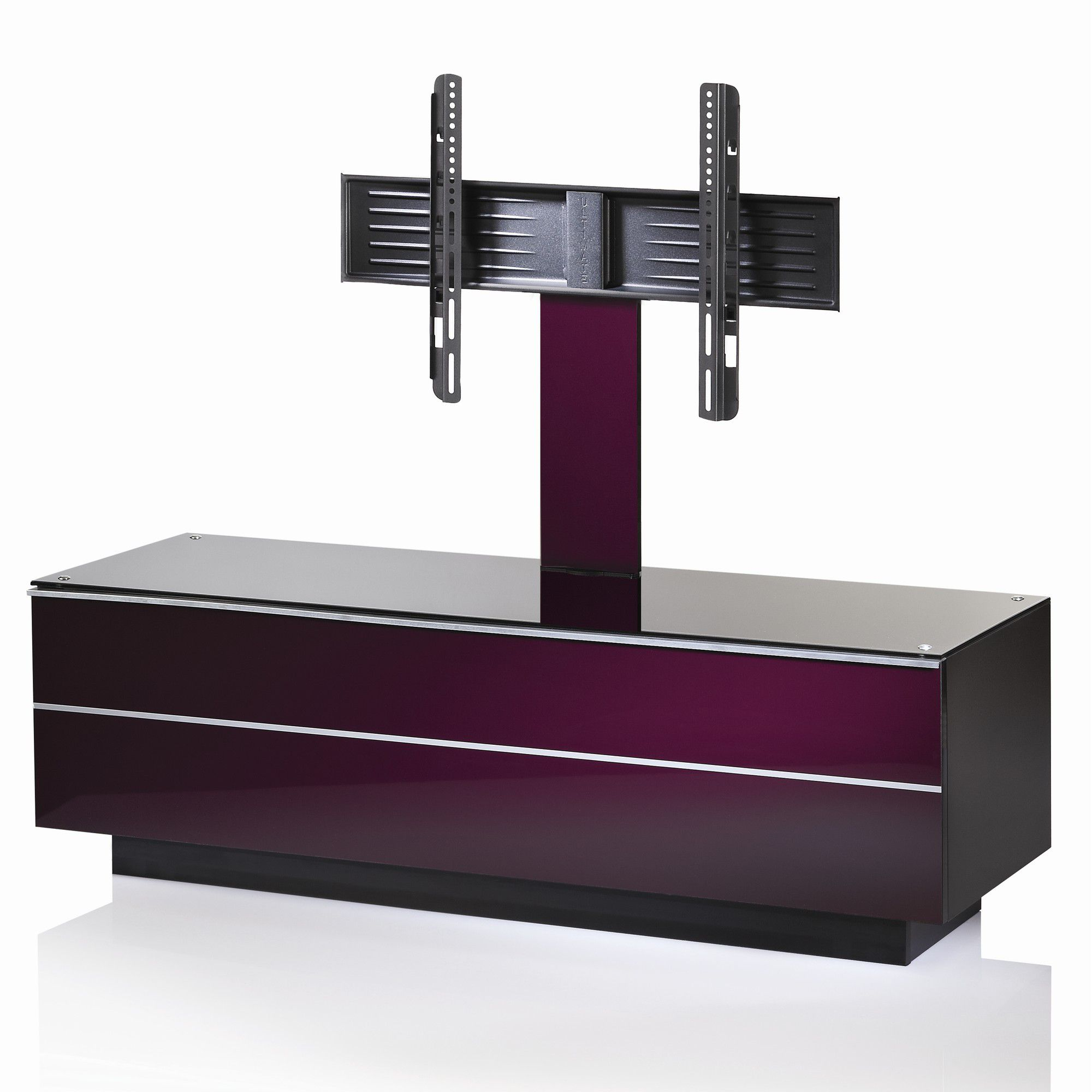 UK-CF G Series GS TV Stand - Damson - 135cm at Tesco Direct