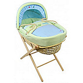 Dormouse Croc and Rumble Maize Moses Basket