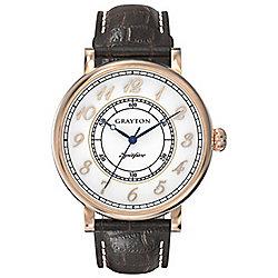 Grayton S-Line Mens Leather Watch GR-0014-001.2