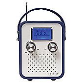 Crosley songbird radio blue
