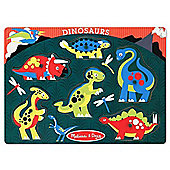 Melissa & Doug Dinosaurs Site Peg Puzzle