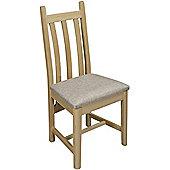 Old Charm Hertford Ash Dining Chair - Vintage - Linolino Mink