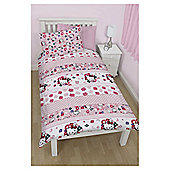 Hello Kitty Duvet Set, Single TESCO EXCLUSIVE