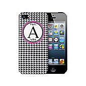 Personalised Houndstooth iPhone 5 Case Mobile Phone Protector