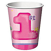 Paper Cups 256ml, Pack of 8