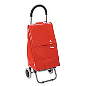 Typhoon Glossy Red Shopping Trolley