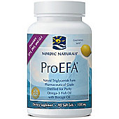 Nordic Naturals ProEFA Lemon 1000mg 90 Softgels