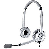 Jabra UC Voice 750 Wired Stereo Headset - Over-the-head - Semi-open