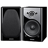 DENON SCN8 SPEAKERS (PAIR) (BLACK)