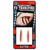 Halloween Special Effects Makeup - Cutters