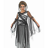Black Haunting Ghost - Adult Costume Size: 12-14