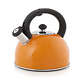 Cook Incolour - 2.5 Litre Orange Stove Top Kettle