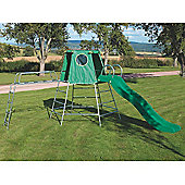 TP Toys Explorer2 Climbing Frame with Den and Slide