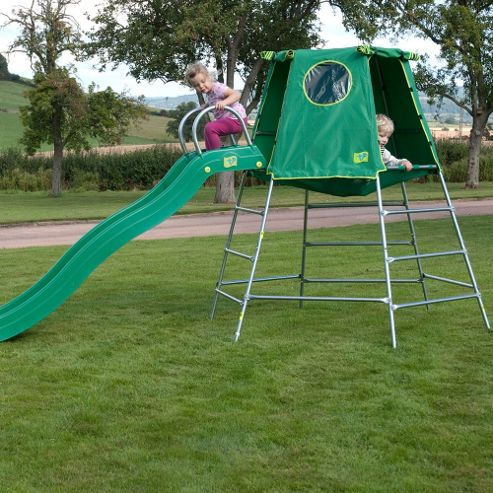 TP Toys Explorer 2 Climbing Frame with Den & Slide