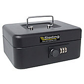 Sterling Black Combination Cash Box - Medium