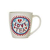 Linea By Mary Fellows I Love Tea Mug