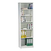 Maja- Möbel Bookcase - White Lacquer Look - 189 cm H x 55.2 cm W x 35 cm D