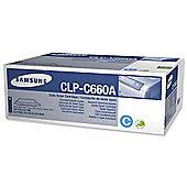 Samsung CLP-C660A toner cartridge - Cyan