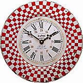 Roger Lascelles Clocks French Tin Marseille Wall Clock
