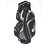 Palm Springs 14 Way Divider Golf Trolley Bag Silver